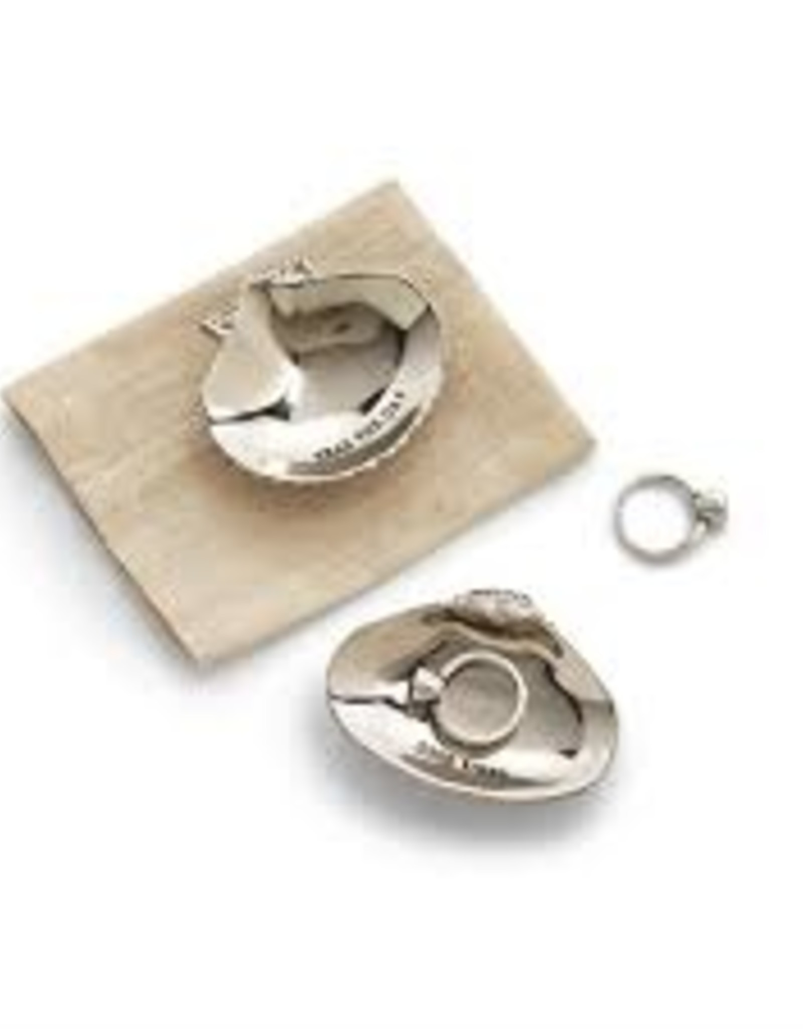 Shell Trinket Tray in Gift Pouch, Dream Big