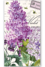 MichelDesign Works Lilac and Violets Hostess Napkin