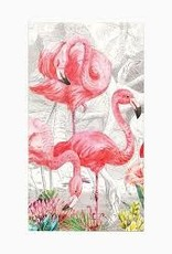 MichelDesign Works Flamingo Hostess Napkin
