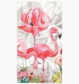MichelDesign Works Flamingo Hostess Napkin