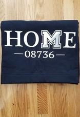 Off Main Gifts HOME 08736 Fleece Blanket, Navy