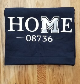 Off Main Gifts HOME 08736 Fleece Blanket, Navy