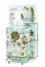 MichelDesign Works Seashell Foaming Soap Napkin Set