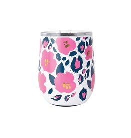 Mary Square Stainless Tumbler, Wild Posy