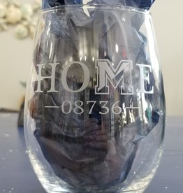 Susquehanna Glass HOME 08736 Stemless Glass