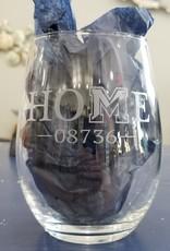 Susquehanna Glass HOME 08736 Stemless Glasses, Set of 4