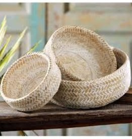 Nesting Bamboo Bowl Set of 3