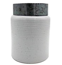 DEI Canister w Tin Lid, Large
