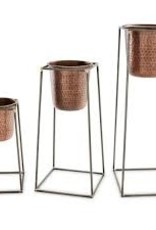 Nesting Copper Pot & Stand, Large