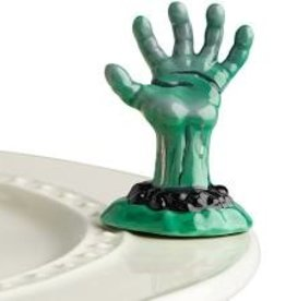 Nora Fleming Haunted Hand, mini