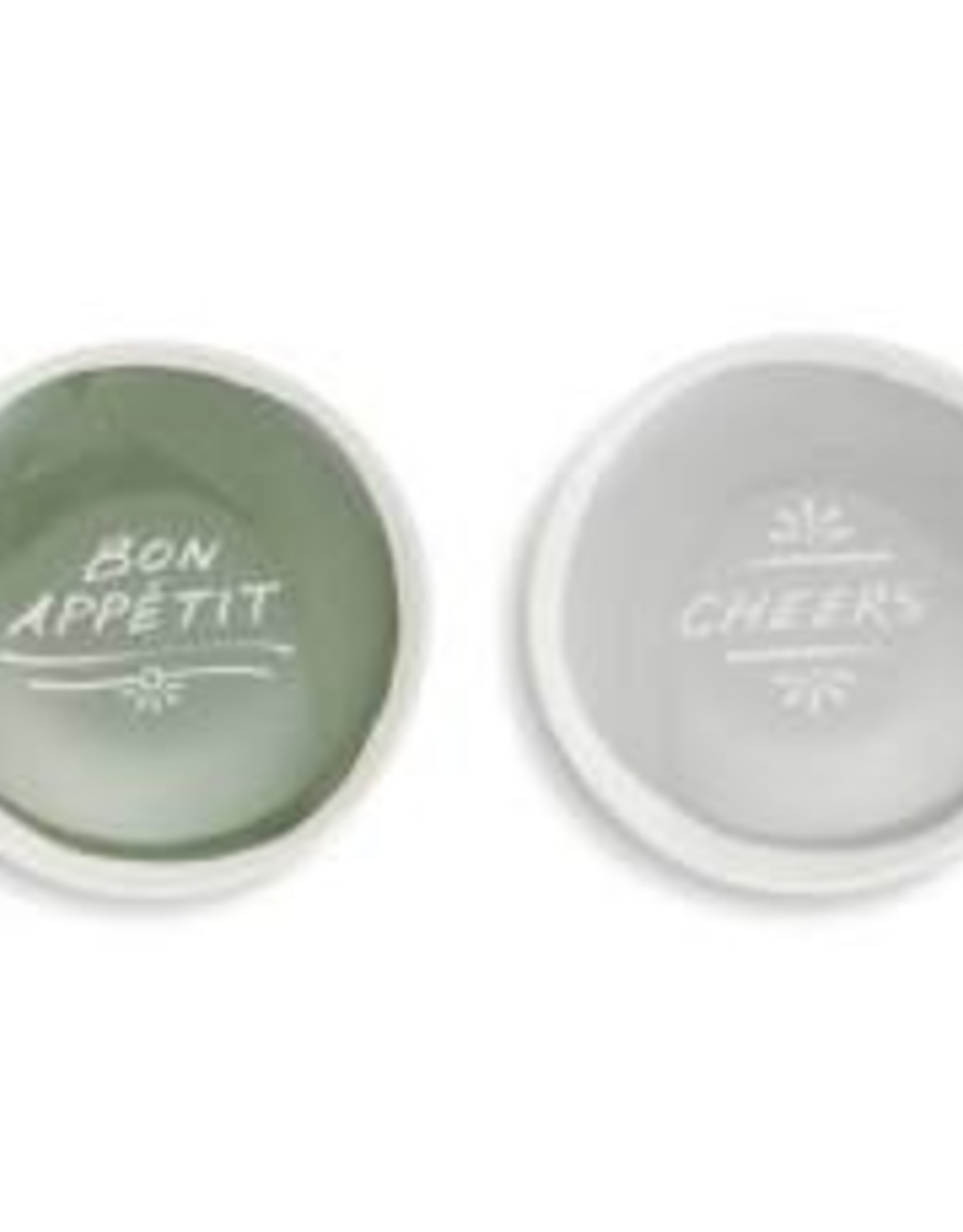 Appetizer Plates, Set of 2, Cheers