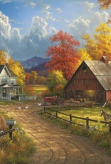 White Mountain Puzzles Puzzle, Country Blessings