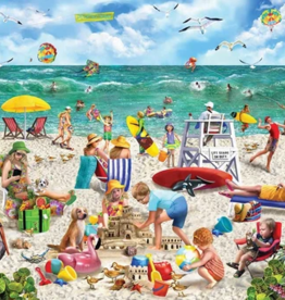 White Mountain Puzzles Puzzle, Beach Day