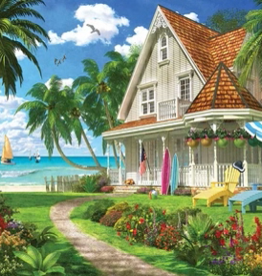 White Mountain Puzzles Puzzle, Beach House