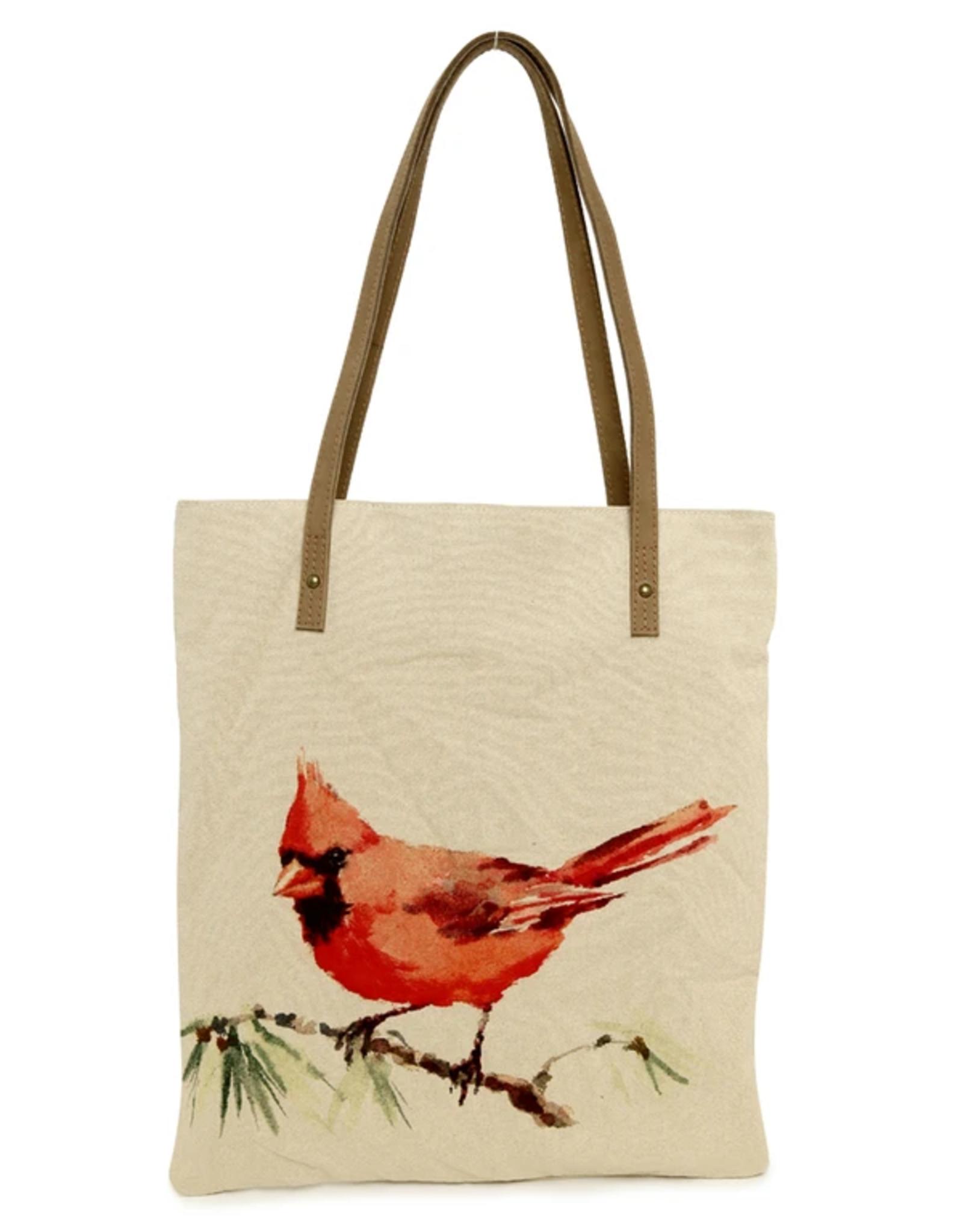 CottnCurls Book Bag Tote, Cardinal