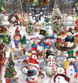 White Mountain Puzzles Puzzle, Snowmen