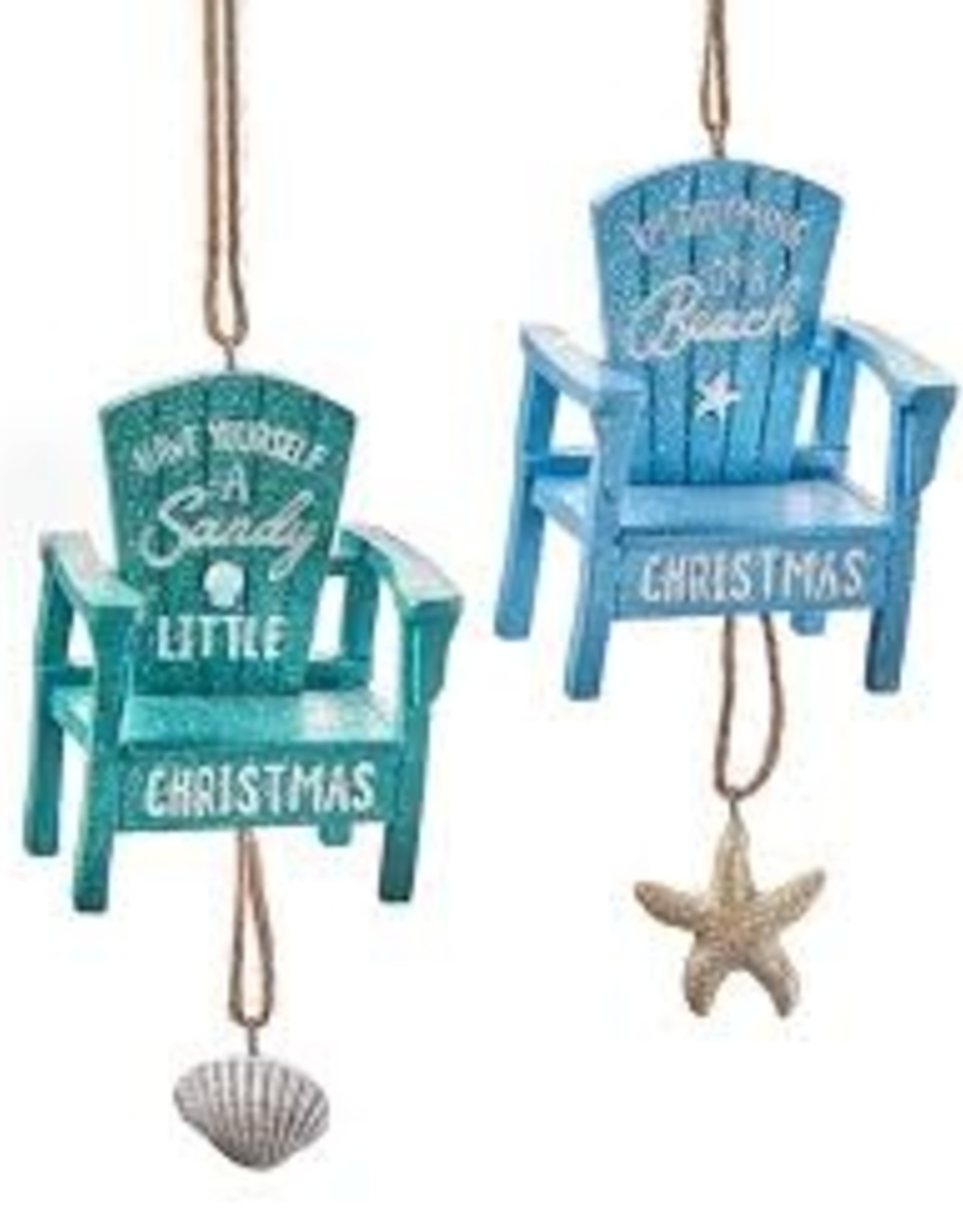 GiftCraft Beach Chair Ornament