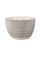 Paddywax Painted Bowl Candle, Large, Sea Salt & Sage