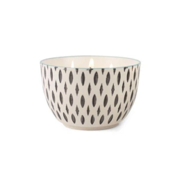 Paddywax Painted Bowl Candle, Large, Earl Grey & Lavender