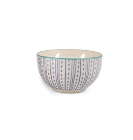 Paddywax Painted Bowl Candle, Small, Vetiver & Vanilla