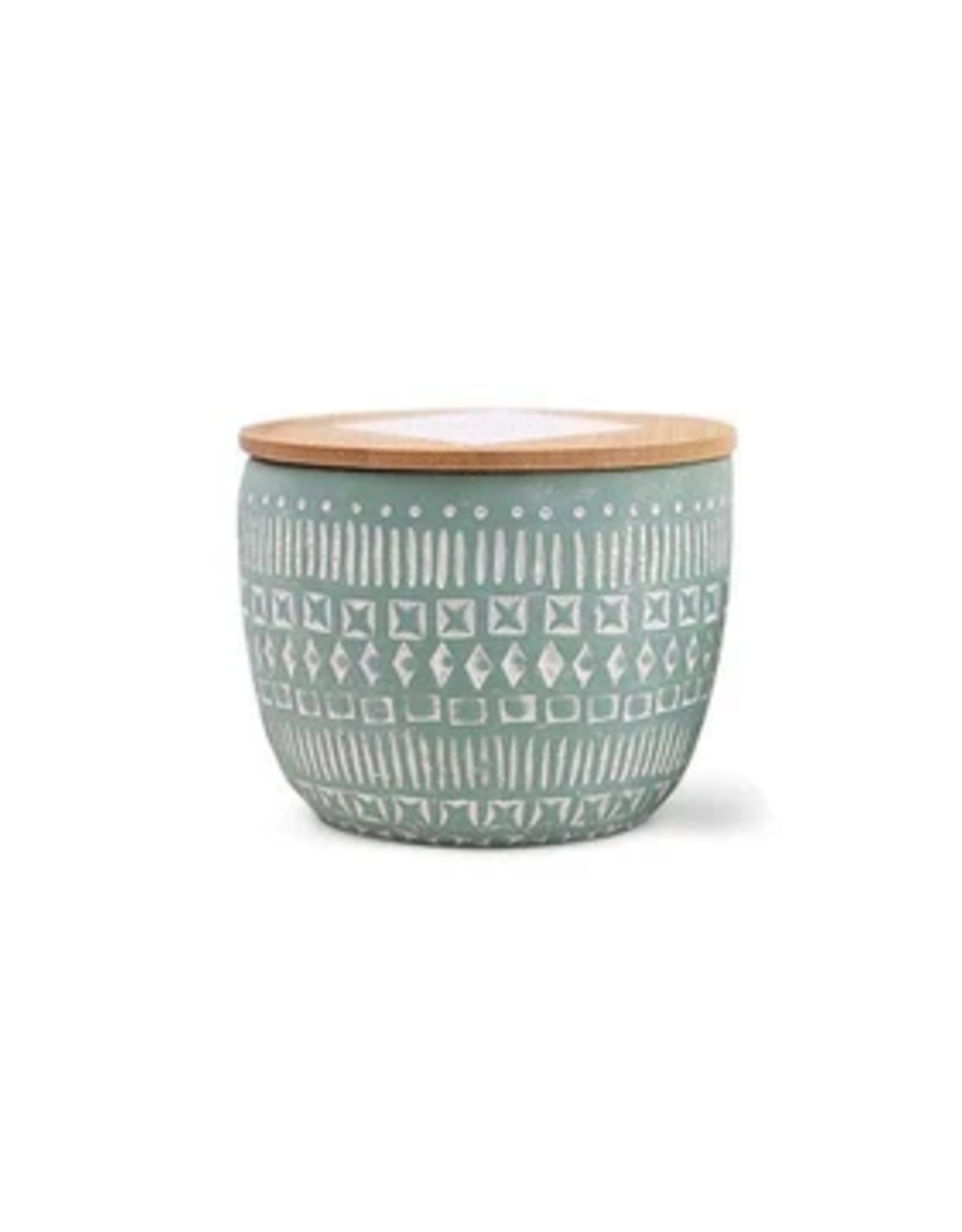 Paddywax Etched Candle, Small, Bergamot & Fig