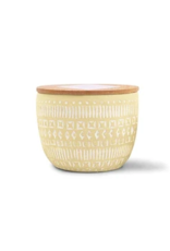 Paddywax Etched Candle, Large, Meyer Lemon