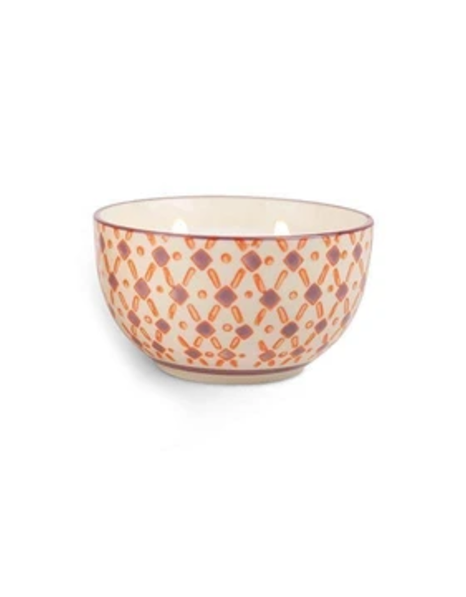 Paddywax Painted Bowl Candle, Small, Pink Pepper & Pomelo
