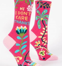 Blue Q Socks, Hi. I Don't Care.