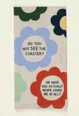 Blue Q Dish Towel, Coaster