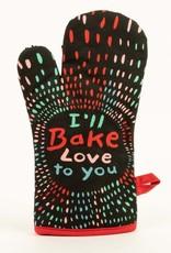 Blue Q Oven Mitt, I'll Bake Love To You