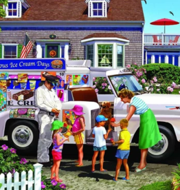 White Mountain Puzzles Puzzle, Ice Cream Truck