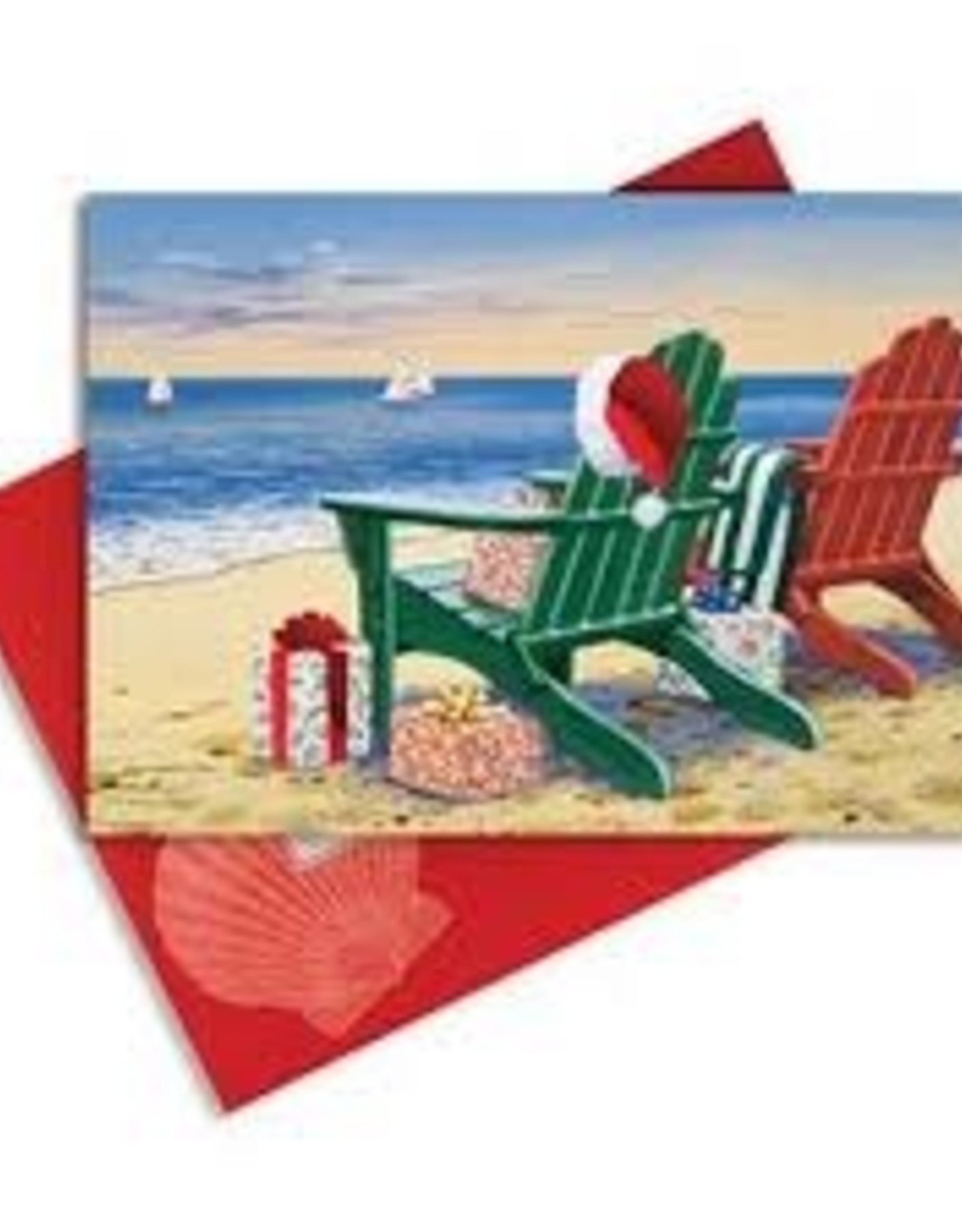 Cape Shore Boxed Christmas Cards - Chairs