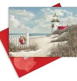 Cape Shore Boxed Christmas Cards - Lighthouse