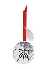 Cape Shore Silver Sand Dollar Ornament - Sea Girt
