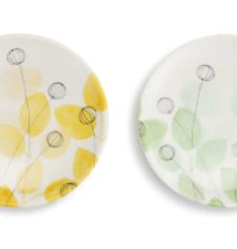 Appetizer Plates, Set of 2, Summer Floral