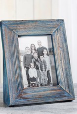 GiftCraft Green Blue Driftwood Frame, 5x7