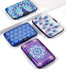 GiftCraft RFID Wallet, Peacock Purple