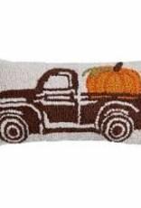 Truck w Pumpkin Pillow