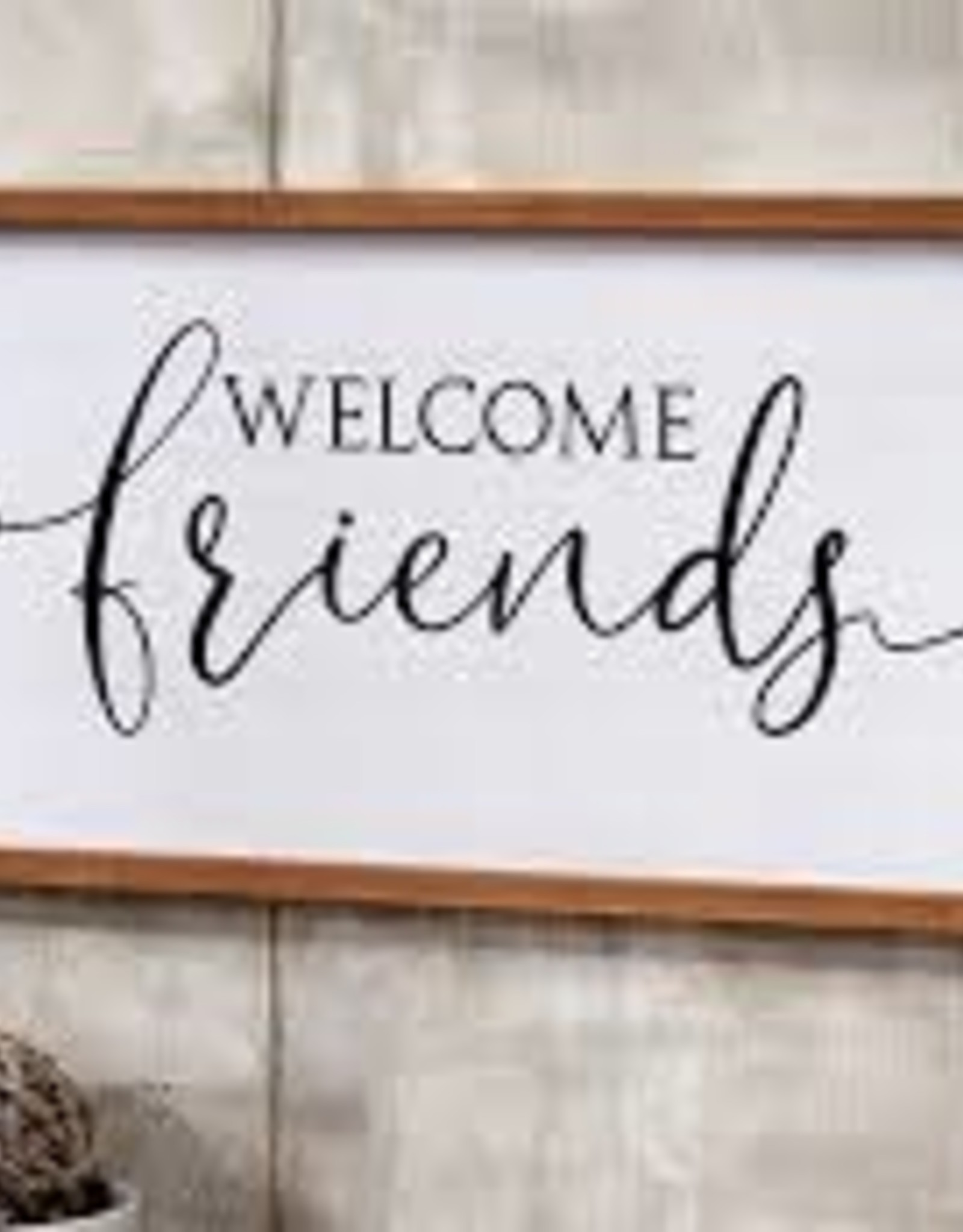GiftCraft Welcome Friends Sign