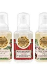 MichelDesign Works Mini Foaming Soaps, Tartan & Spruce