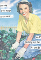 Anne Taintor Cocktail Napkin, Reap