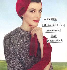 Anne Taintor Birthday Card -  Reputation