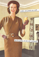 Anne Taintor Birthday Card - Joints