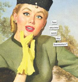 Anne Taintor Birthday Card -  Hormones