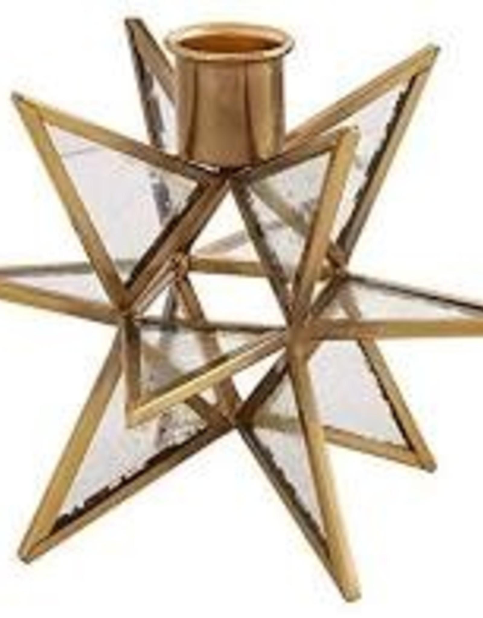Gold Star Taper Holder
