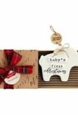 Elephant Baby Ornament 2020