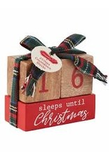 Count Down To Christmas Blocks