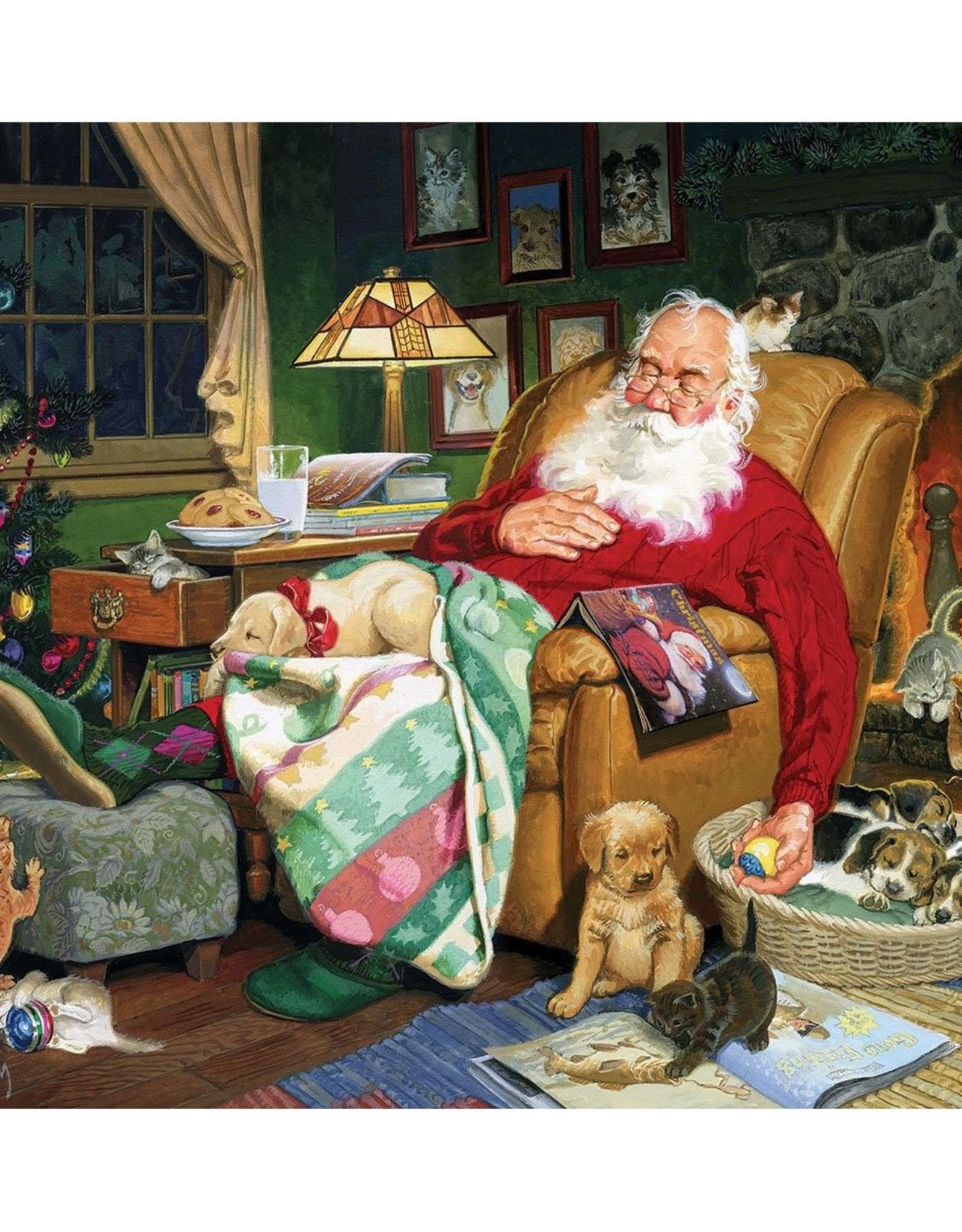 White Mountain Puzzles Puzzle, Santa's Naptime
