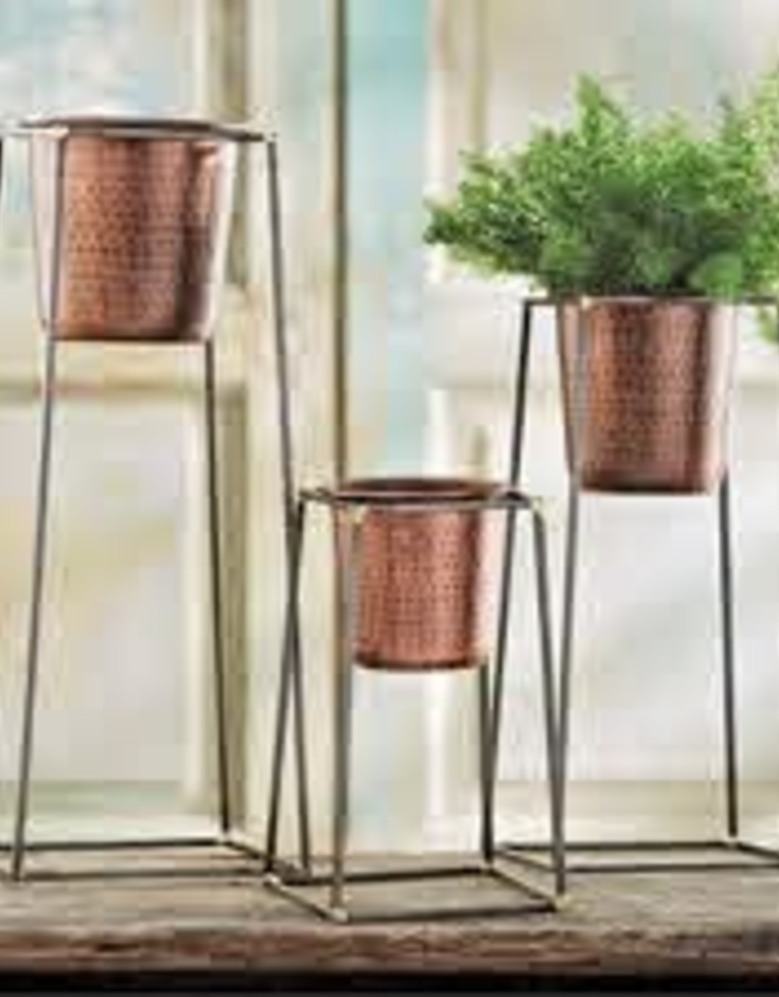 Nesting Copper Pot & Stand, Small