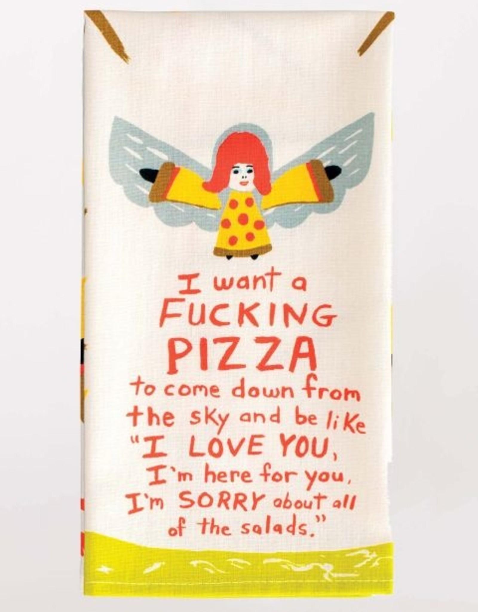 Blue Q I want a Pizza Dish Towel